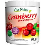 Cranberry com Colageno (Framboesa) 200g - Vital Natus