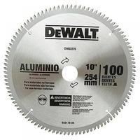"Disco de Serra para Alumínio (10"") 100 Dentes - DW03220 - Dewalt"