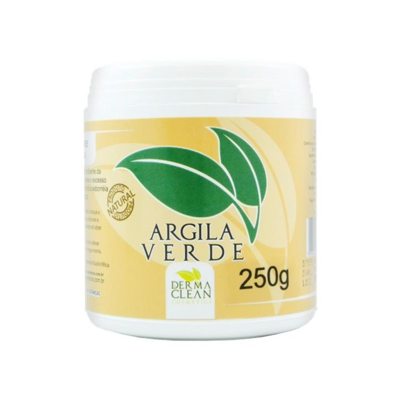 Argila Verde em po - 250g - Dermaclean