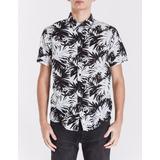 Camisa Bowen Palm Leaves C Shirt Manga Corta Algodón