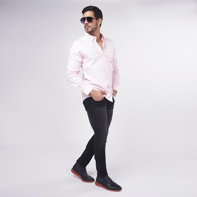 Pantalón Negro Ajustado 019251