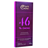 Chocolate Meio Amargo com 46% Cacau - 100g - Espirito Cacau