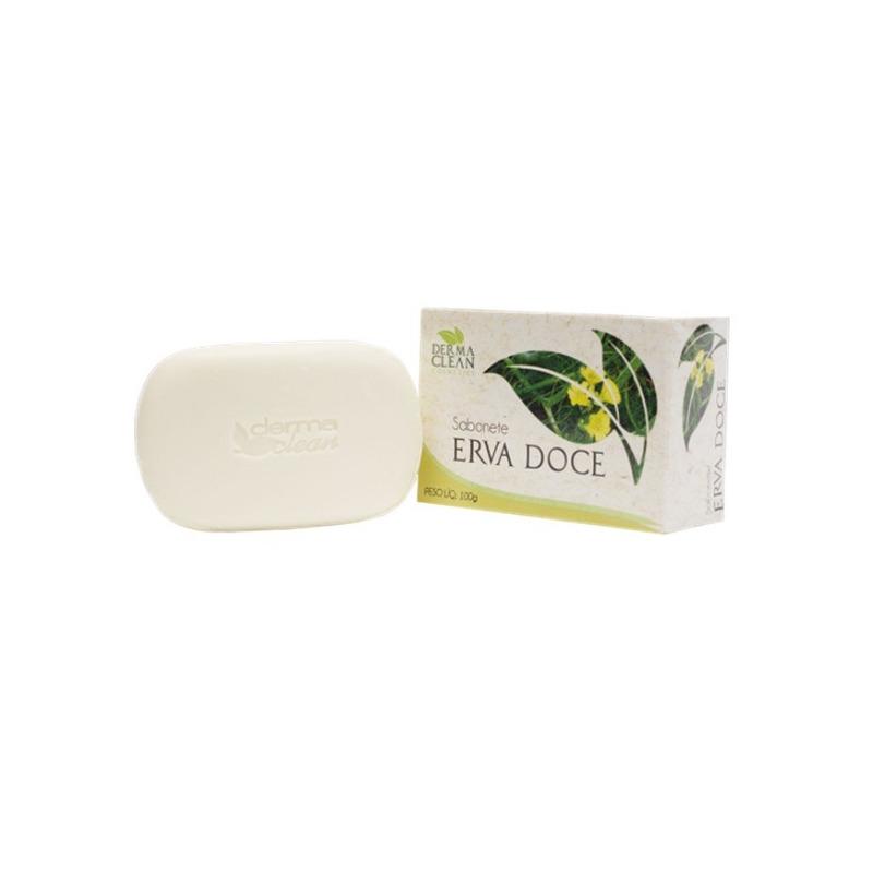 Sabonete de Erva Doce - 100g - Dermaclean