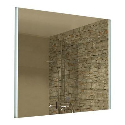 Espejo Cuadrado Con Led Moderno Tactil Baño Pared N°2
