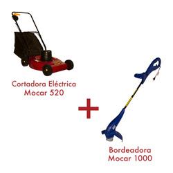 Cortadora 1,5 HP 520 + Bordeadora 1000