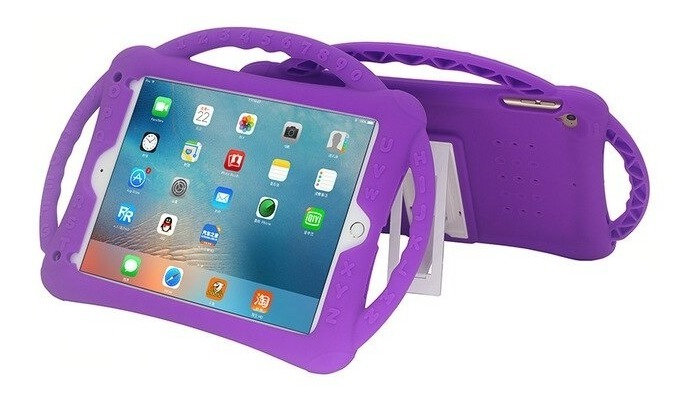 FUNDA NEW EVA KIDS PARA IPAD 10.2 PURPURA