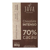 Chocolate Intenso 70% Cacau - 80g - Java