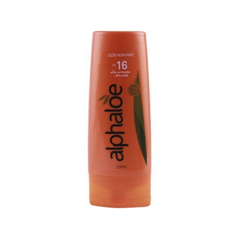 Locao Hidratante FPS 16 80% Aloe (Conc. 10:1) 200ml Alphaloe