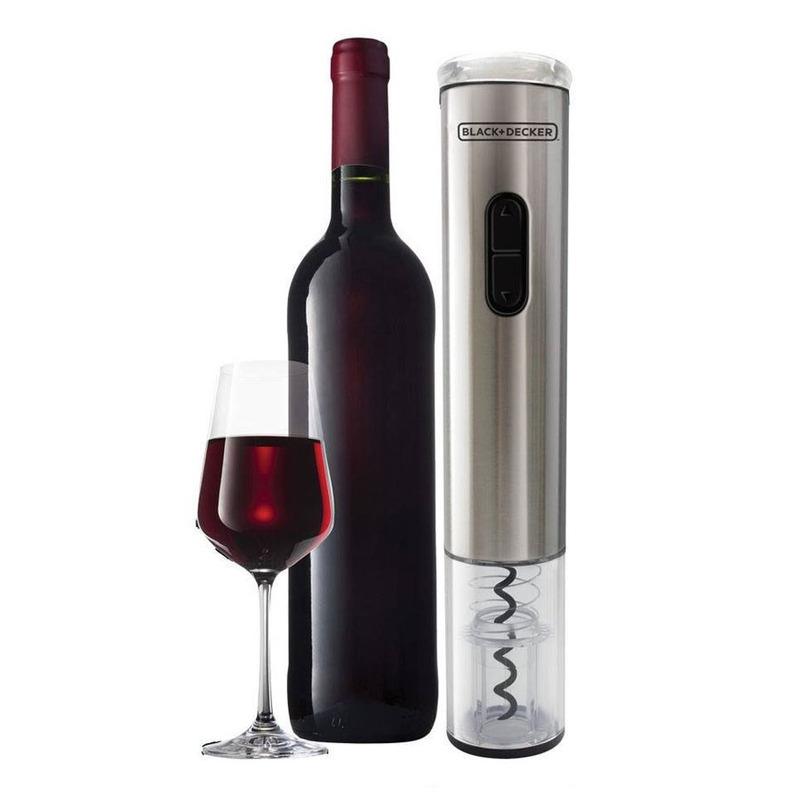 Abridor de Vinho - Wine Inox - Inox Apilha - Black&Decker