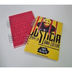 Cuaderno A4 espiralado - sublimado (E...