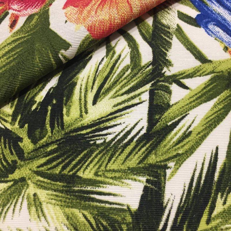 tecido impermeável tropical Amazônia verde Larg,142 M