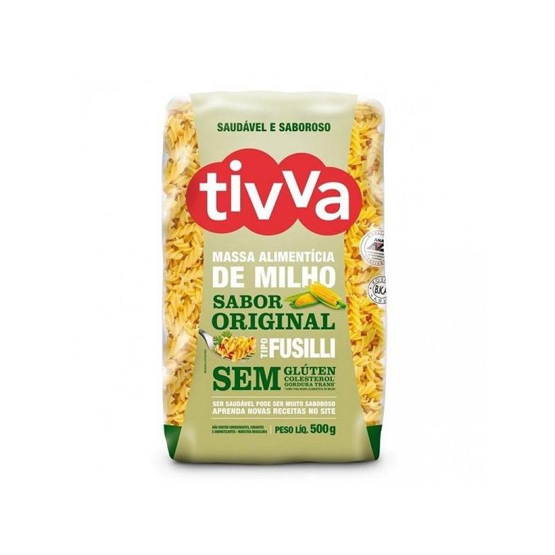 Macarrao Fusilli de Milho Sem Gluten - 500g Tivva
