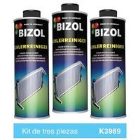 Aditivo Bizol Limpiador del Sistema de Radiador Kit 3p de 250ml