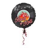 globo rock and roll 45cm desinflado apto helio