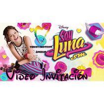 Busca Tarjeta De Invitacion Soy Luna Plegada Con Cinta A La