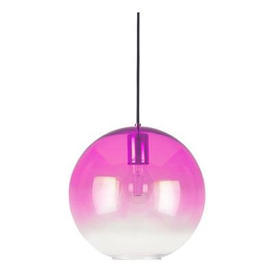 Colgante Globo 1 Luz Purpura Aarhus L Moderno Apto Led Cie