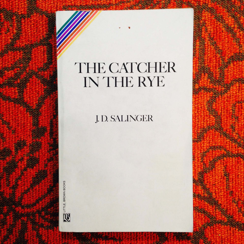 J.D. Salinger.  THE CATCHER IN THE RYE.