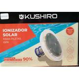 Ionizador Solar Pileta Piscina Kushiro 90% Menos Cloro + tiras reactivas