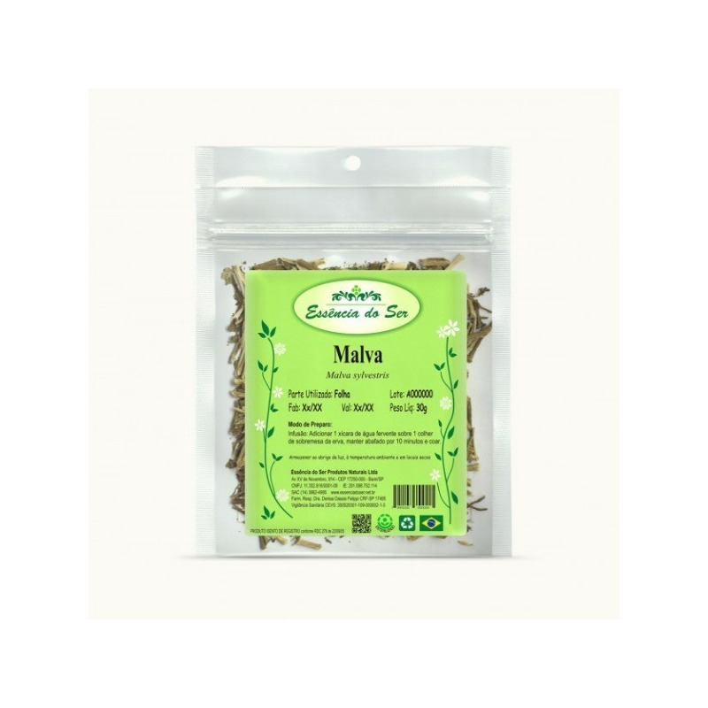 Cha de Malva - Kit 3 x 30g - Essencia do Ser