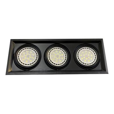 Spot Embutir 3 Luces Scenic Cardanico Profesional Ar111