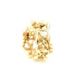Acacia Anillo Flor - Baño de Oro