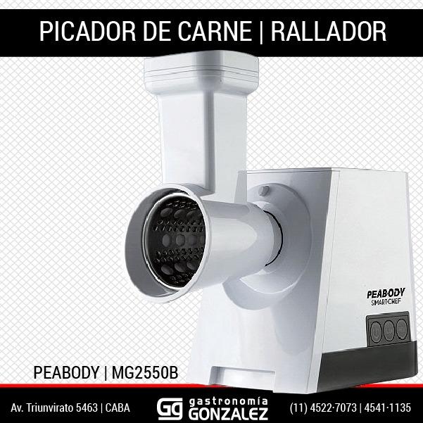 Rallador eléctrico Peabody