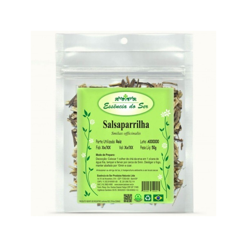 Cha de Salsaparrilha - Kit 2 x 50g - Essencia do Ser