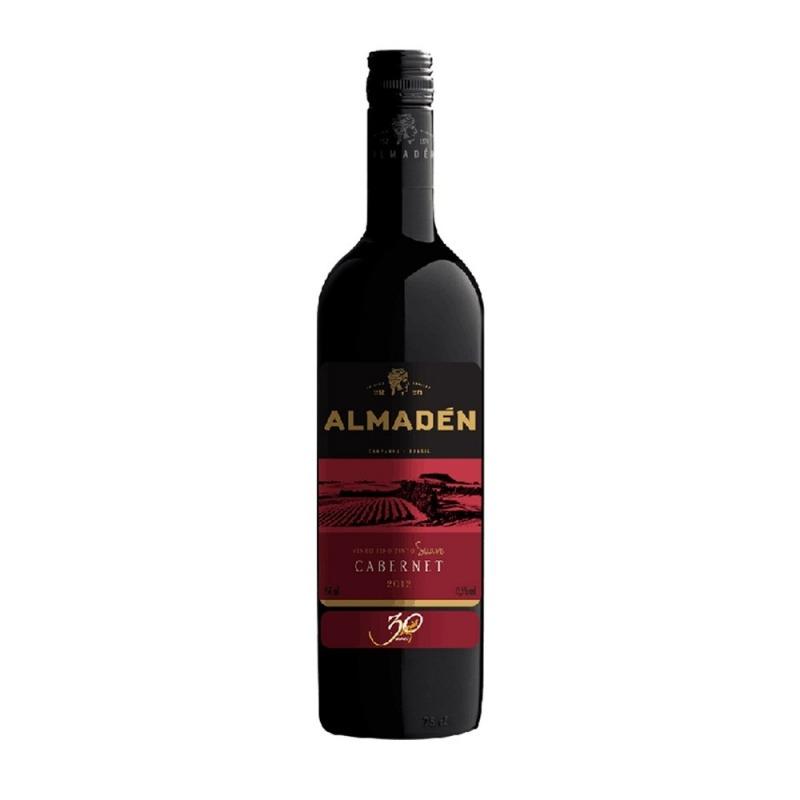 Vinho Fino Cabernet Sauvignon Suave Almadén 750ML - Miolo