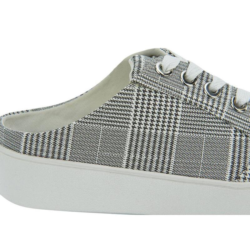 Sneakers Blancos Con Negro 020868