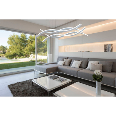 Colgante Led 110w Moderno Control Remoto Calidad Premium Tz