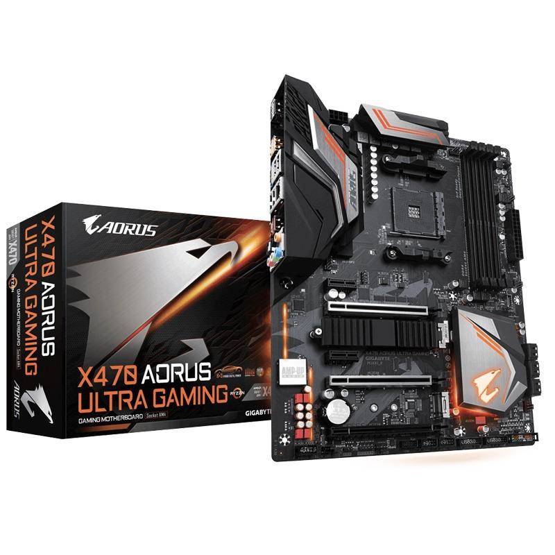 Motherboard Gigabyte X470 Aorus Ultra Gaming