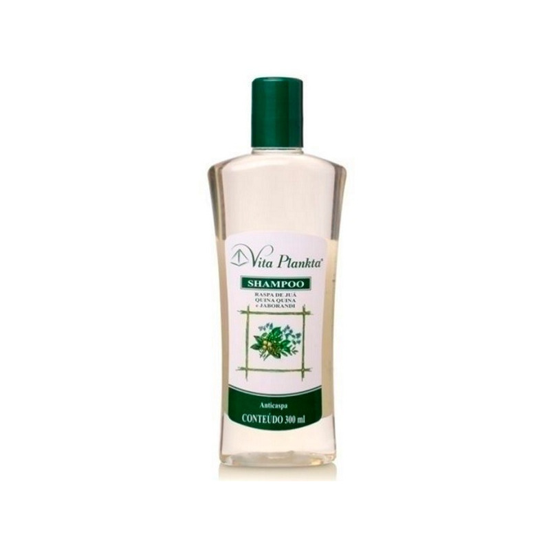 Shampoo Anticaspa Jaborandi+Jua+Quina-Quina - 300ml Vitalab