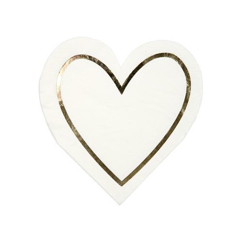 servilletas corazon