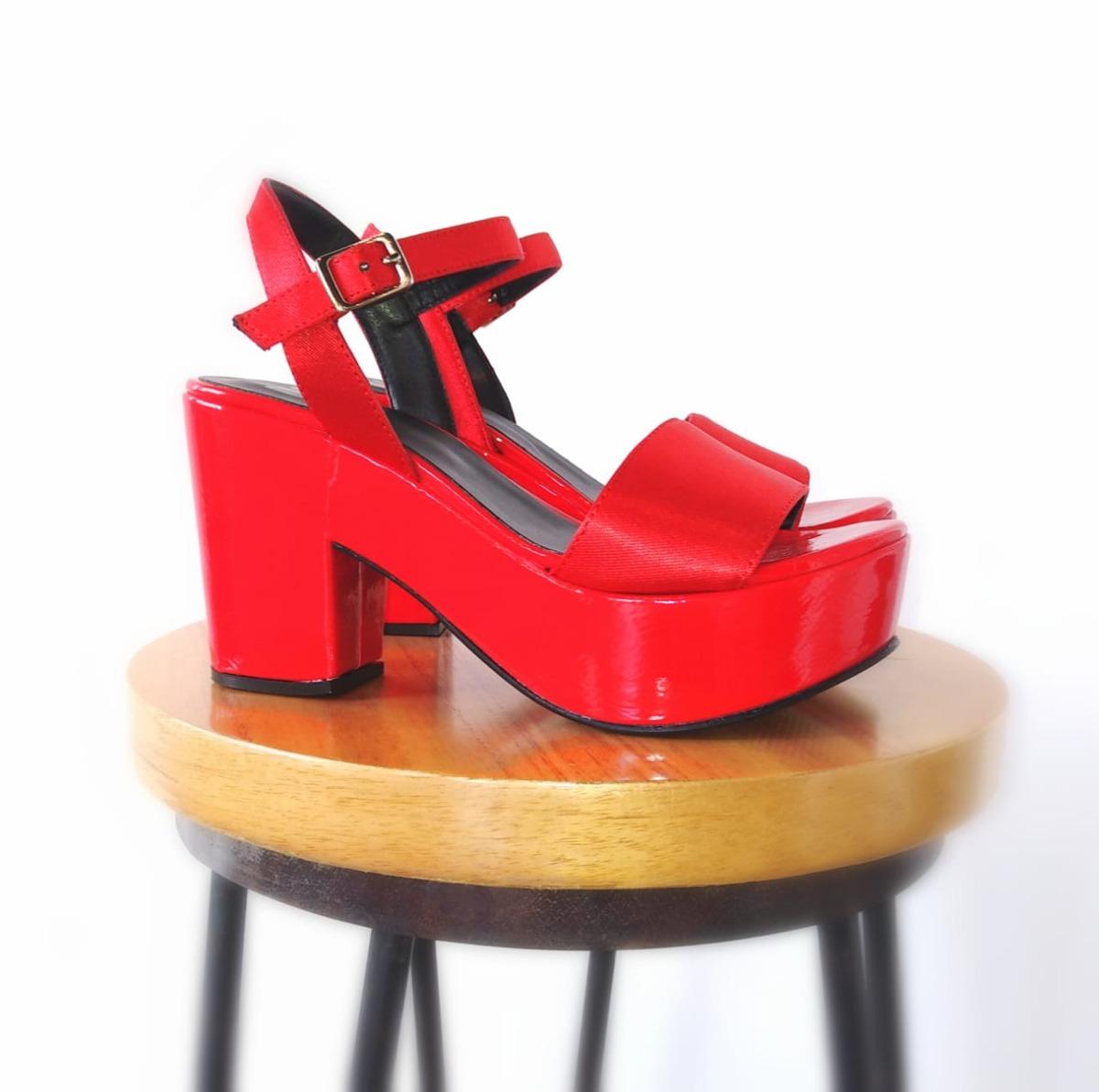Sandalia 30101 Rojo