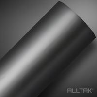 Adesivo para envelopamento automotivo grafite fosco larg. 1,38 m