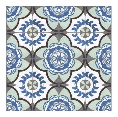 Porcelanato Urba Rectificado 57,7x57,7 1era Calcareo Azul