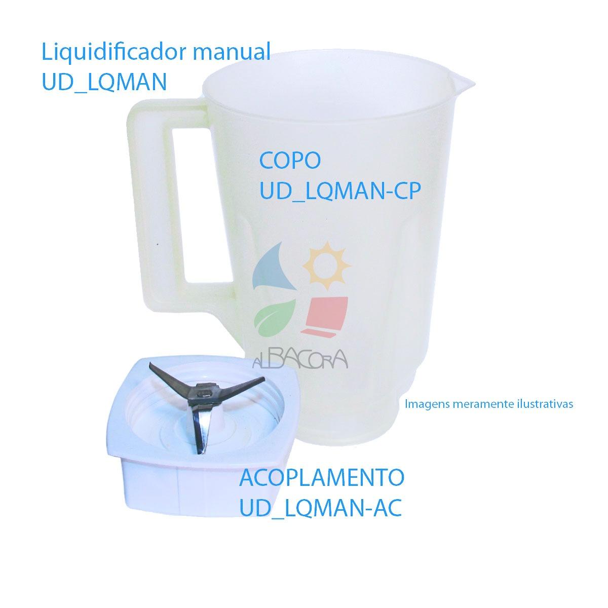 COPO PARA O LIQUIDIFICADOR MANUAL.