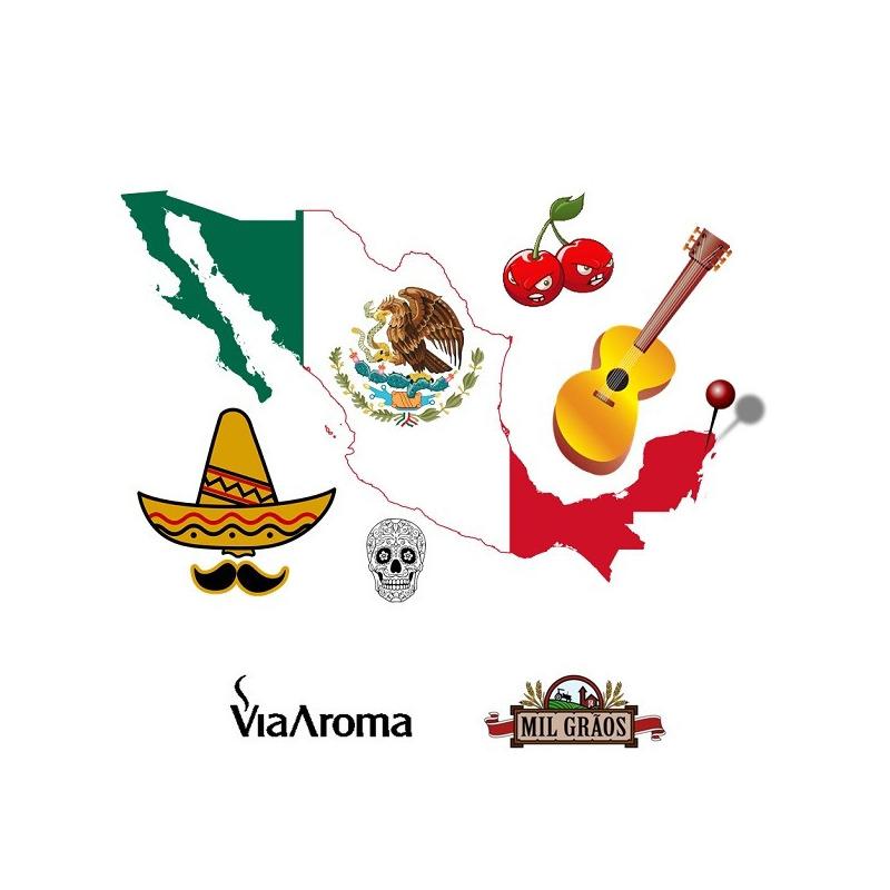 Essencia Cidades Mundo Cancun Cereja Tropical 10ml Via Aroma