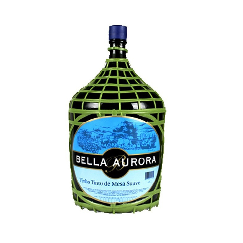 Vinho Tinto Suave Izabel/Bordô 4,5 L - Bella Aurora