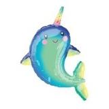 globo delfin unicornio 35cm sin inflar