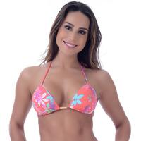 Top Summer Soul Cortininha Com Passante Jasmim Coral