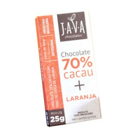 Chocolate de Laranja 70% Cacau - 25g - Java
