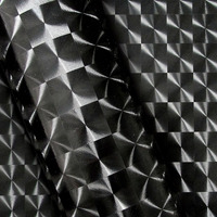Adesivo 3D para envelopamento automotivo dimension black larg. 1,38 m