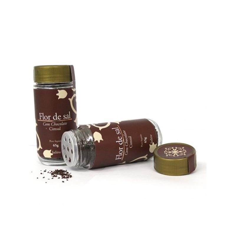 Flor de Sal com Chocolate - 65g - Cimsal
