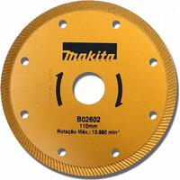 "Disco Diamantado 110mm (4.1/2"") Turbo - Makita - B-02602"