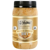 Pasta de Amendoim Pacoca Crunch Whey 500g El Shaddai Gourmet