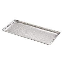 Bandeja Retangular de Alumínio Niquelado 38Cm 4101095
