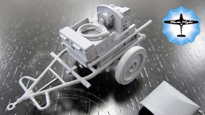 Sd.Kfz.2 Power Supply Car escala 1/32