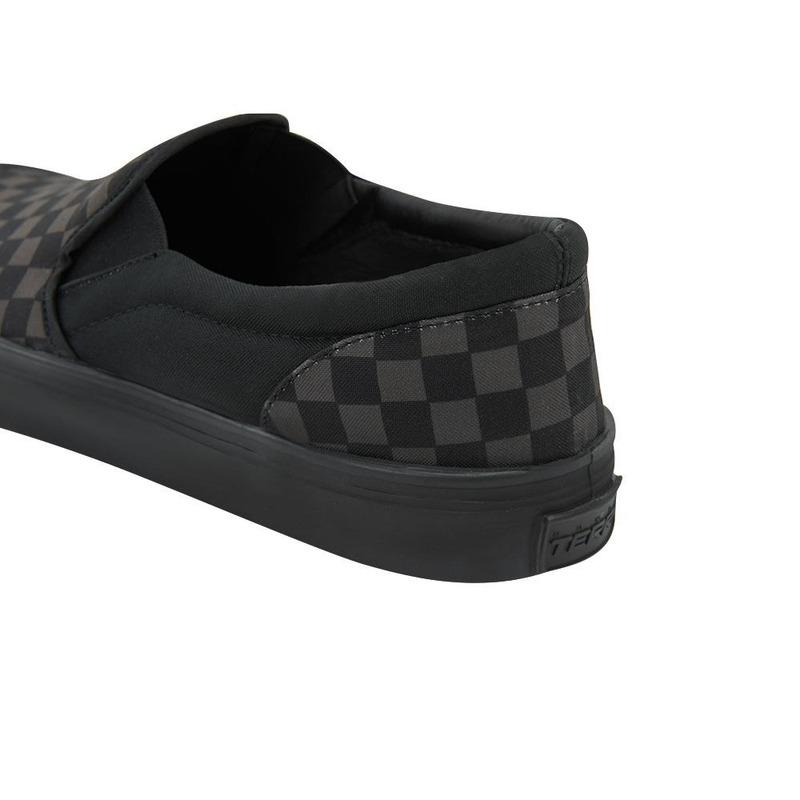 Sneakers Negros Multicolor A Cuadros 017598
