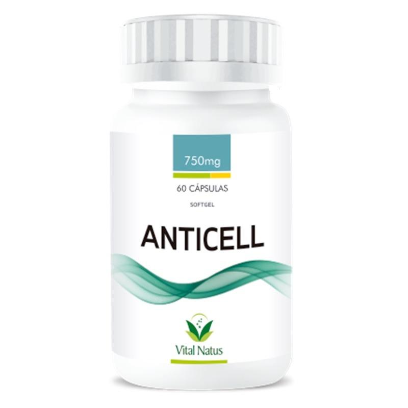 Anticell - 60 Caps 750mg - Vital Natus